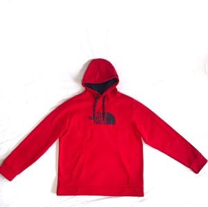 The North Face Hoodie Red XL
